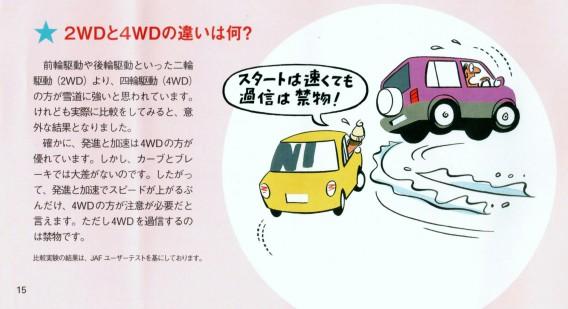 2WDと4WDの違い