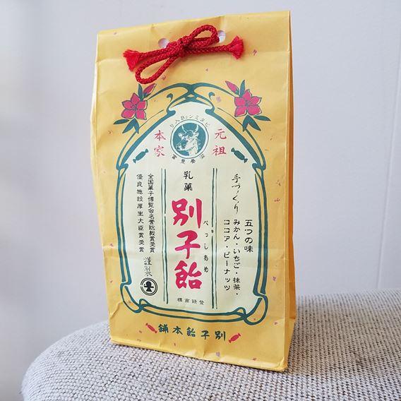 別子飴の味は?昭和レトロなお菓子の感想です。懐かしい感じがたまらない!